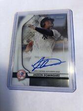 2020 Bowman Sterling JASSON DOMINGUEZ Chrome Prospect AUTO Yankees Autograph 🔥
