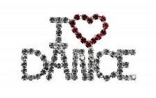 I LOVE DANZA Spilla con strass regalo natale da Katz dancewear Regali je-02