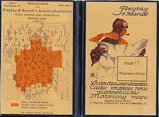 Ballenstedt Harzgerode Kelbra 1930 kl. orig. Auto-Teilkarte/Ln Sangerhausen Harz