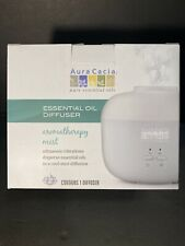 NEW AURA CACIA ESSENTIAL OIL DIFFUSER - AROMATHERAPY COOL MIST RESPIRATORY A6
