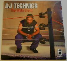 LP US ** DJ TECHNICS-The Main Event (Big Play Ent.'98/Sealed) *** 21274