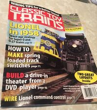 CLASSIC TOY TRAINS September 2006 Issue LIONEL in 1958; Build a Drive-In Theatre