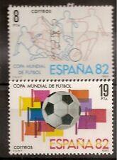 Spain Edifil # 2570/2571 MNH Set football / soccer / football World Cup 1982