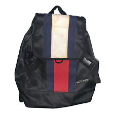 Vintage Tommy Hilfiger Purse Backpack Bookbag Flag Adjustable Straps Gift 90s
