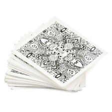 24 Sheets Nail Art Lace Floral Stickers Set DIY Water Transfer Stamp Decals Tips