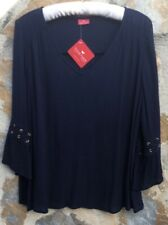 Together Navy Blue Top Size Large 16/18. New With Tags