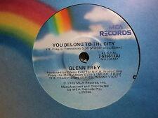 "Glenn Frey ""You Belong To The City"" EAGLES Oz 7"""