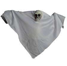 Scary Halloween Party House Voice Activated White Ghost Horror Prop Accessory