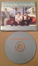 Simple Minds - War Babies EU Promo Cd Ultra Rare! 1998
