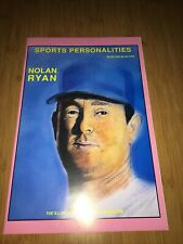 SPORTS PERSONALITIES #2  NOLAN RYAN  Comic Book PERSONALITY 1991 New Mint Cond.