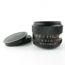 Für M42 Revuenon-Special 2.8/35 Objektiv lens + caps