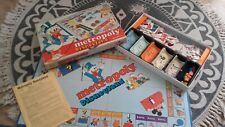 Metropoly Disneyland Monopoly Disney Jeu de société Ancien Vintage Picsou 1986