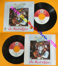 LP 45 7'' SPARGO One night affair Running from your lovin 1981 italy cd mc dvd *