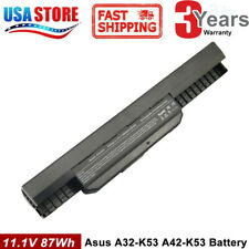 9cell battery A32-K53 for ASUS A53E A53S A43S A54C K53SV X53U X54H notebook PC