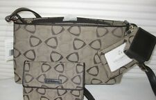 New Liz Claiborne brown small shoulder bag with matching wallet.