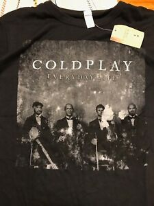 Coldplay everyday life T-shirt new size M