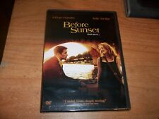 Before Sunset (Dvd, 2004) Ethan Hawke Julie Delpy Drama Movie New