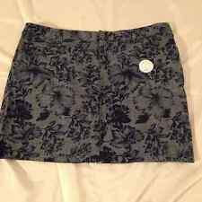 Nice Cato Womens Pencil Skirt Size 16w Career Work Kick Pleat Black White Floral Euc Skirts Women's Clothing