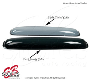 Sunroof Moon Shield Roof Top Visor 880mm Ash Gray For 1995-1999 Toyota Tercel