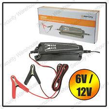 N2A SMART 6V 12V LEAD ACID BATTERY CHARGER IP65 Intelligent Trickle AGM GEL VRLA