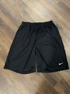 Mens Nike Athletic Basketball & Training Shorts Size Large - Black
