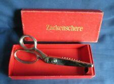 Singer, Zackenschere, Schere 18 cm, Metall mit roter Pappschachtel