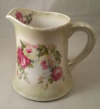 Antique AMERICAN CHINA CO Toronto Ohio Porcelain Floral Pattern Milk Pitcher USA