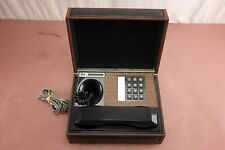 Vintage 1970s Touch Tone Northern Telecom Nt Executive or Airplane Phone in Case