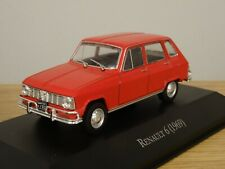 ALTAYA IXO RENAULT 6 1969 RED CAR MODEL LX27 1:43