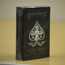 Bicycle Deck Black Ghost Playing Cards Second Edition 500 Air Glide Finish