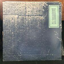 "COLOURBOX SAY YOU / FAST DUMP 1984 INDIE ROCK 12"" VINYL"
