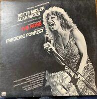 Bette Midler Alan Bates The Rose Soundtrack 1979 Atlantic LP Record Vinyl Album