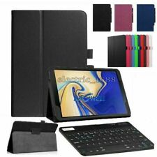 For Samsung Galaxy Tab A 10.1 SM-T510 SM-T515 Tablet Keyboard Leather Case Cover