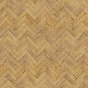 Dolls House Miniature Parquet Flooring 9 Inch Honey Color Oak Strip Effect
