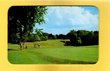 Eau Claire,MI Michigan Indian Lake Golf Course, #9 Green and scenic fairway