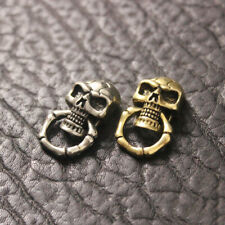 Brass Conchos Screw Back Vintage Skull Leather Crafting Concho Decorative Buckle