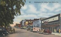 (U)  Athens, GA - Washington Street - Looking East - Business District