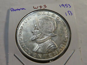 W73 Panama 1953 Balboa