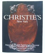 Christie's Auction Catalog Exemplary-1146: English Porcelain April 2002 New York