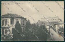 Milano Meda ABRASA cartolina QQ8139