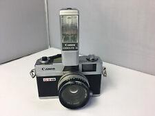Canon Canonet QL17 GIII Film Camera with Canolite D Flash / 40mm Lens