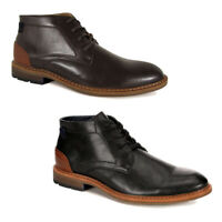 Restoration Mens Wayne Leather Chukka Ankle Boot Shoes
