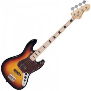 Vintage VJ74 Reissued Maple Fingerboard - Bass - Sunset Sunburst