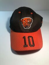 CLEVELAND BROWNS dog logo #10 Brady Quinn youth football hat Reebok cap QB
