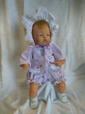 """Quality NEW 3 Piece Dress Set For 14/"""" Ideal Tiny Thumbelina Baby Doll By OTM"""
