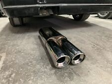 For Mercedes Benz W124 W140 S500 Fitting Size Wald Exhaust Muffler Brabus