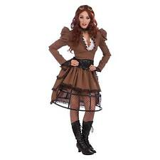 Forum Novelties Ac543 Steampunk Vicky Hoop Skirt (uk 10-12)