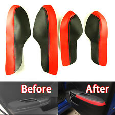 Car Door Armrest PU Leather Surface Shell COVER Trim for Honda 10th Civic 16-18