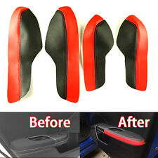 Car Door Armrest PU Leather Surface Shell COVER Trim for Honda 10th Civic 16-17