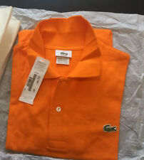 LACOSTE POLO SHIRT BRAND NEW with TAGS MADE IN FRANCE SIZE 7